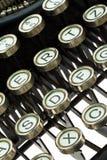 Máquina de escribir antigua, vieja Fotos de archivo libres de regalías
