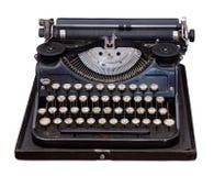 Máquina de escribir del portable de la vendimia Imagen de archivo libre de regalías