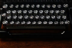 Máquina de escribir vieja de la vendimia Imagenes de archivo