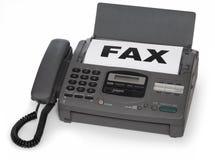 Máquina de fax Imagem de Stock