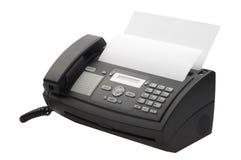Máquina de fax Fotos de archivo libres de regalías