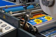 Máquina de impressão Fotos de Stock