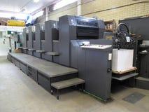 Máquina de impressão da litografia Imagens de Stock