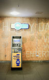 Máquina de la paga Foto de archivo libre de regalías