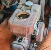 Máquina de la tracción Fotografía de archivo