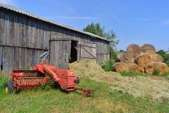 Máquina de semear velha Foto de Stock