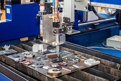 Máquina de trituração do metal Fotografia de Stock