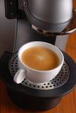 Máquina del café Fotos de archivo libres de regalías