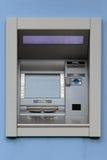 Máquina distribuidora de dinheiro Fotografia de Stock