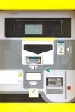 Máquina electrónica de la multa de aparcamiento Imagenes de archivo