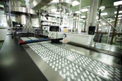 Máquina em uma companhia farmacéutica Imagens de Stock Royalty Free