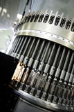 Máquina en planta farmacéutica Imagenes de archivo