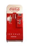 Máquina expendedora de Coca-Cola del vintage Fotografía de archivo libre de regalías