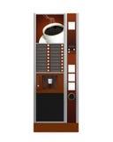 Máquina expendedora del café Foto de archivo