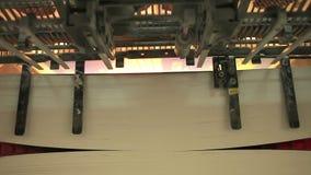Máquina impressora video estoque