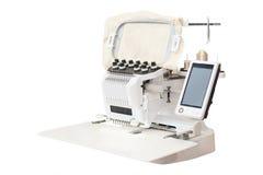 Máquina industrial del bordado Foto de archivo