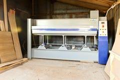 Máquina para processar a madeira Foto de Stock