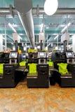 Máquinas de la comprobación del uno mismo Imágenes de archivo libres de regalías