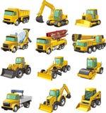 Máquinas de la construcción Foto de archivo