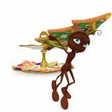 mrówki bożych narodzeń ciastka target2760_0_ ilustracji