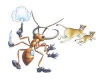 mrówki wojsko Zdjęcie Royalty Free