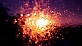 Mróz na szkle Zdjęcie Royalty Free