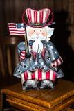 Mr Amerykańska prawo figurka zdjęcia stock