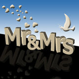 Mr And Mrs Royalty Free Stock Images
