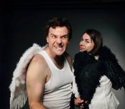 Mr. Angel and Mrs. Angel