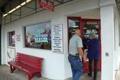 Mr. B`s ice cream parlor royalty free stock image