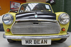 Mr Bean austin mini Royalty Free Stock Images