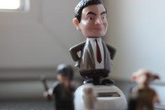 Mr bean figurine royalty free stock photo
