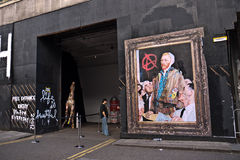 Mr Brainwash's Street Art exhibition Royalty Free Stock Images