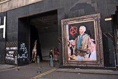 Mr Brainwash's Street Art exhibition Royalty Free Stock Images
