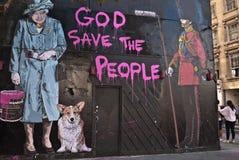 Mr Brainwash's Street Art exhibition Stock Photography