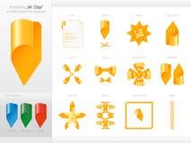 Mr Clippi - pomocniczo projekta element ilustracja wektor