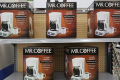 Mr. Coffee Stock Photo