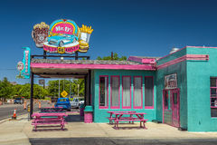 Mr. D'z Route 66 Diner in Kingman located on historic Route 66 Royalty Free Stock Images