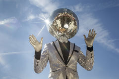 Mr discoball sunshine Stock Image