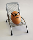 Mr. egg Royalty Free Stock Image