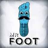 Mr. Foot. Royalty Free Stock Photo