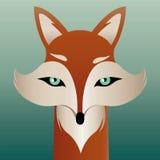 Mr fox illustration. Cute mr fox vector illustration royalty free illustration