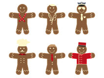 Mr. Gingerbread Stock Images