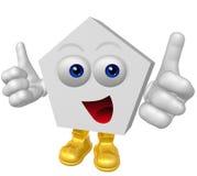 Mr Haexagram Mascot Character Royalty Free Stock Photo