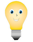 Mr. Light bulb. Is designed for a variety of uses and can have a variety of suits and designs placed on him Stock Photo