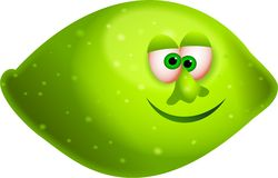 Mr lime Stock Image