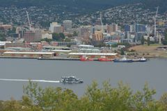 MR-1 MONA Ferry Hobart Tasmania Australia photo libre de droits