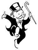 Mr. Monopoly Stock Photography