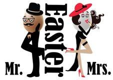 Mr.&Mrs. Wielkanoc Ilustracji