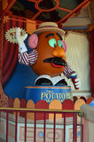 Mr. Potato Head. Show at Disney's California Adventures theme park royalty free stock photo